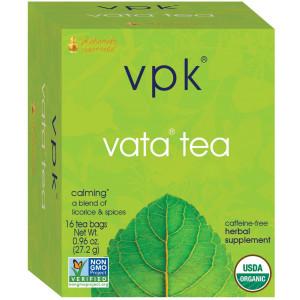 Maharishi Ayurveda Calming Vata Organic Herbal Tea, 16 Herbal Tea Bags, .96 oz (27.2 g)