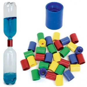 Educational Innovations Vortex Bottle Connector - Tornado in a Bottle Colors May Vary