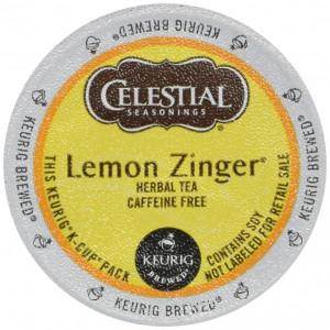 Celestial Seasonings Celestial Lemon Zinger Tea - 18 ct