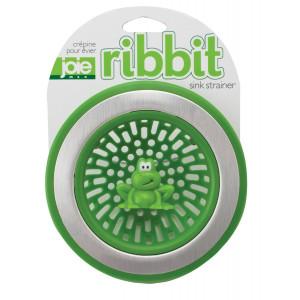 MSC International Joie Ribbit Kitchen Sink Strainer Basket, Frog, 4.5-inch