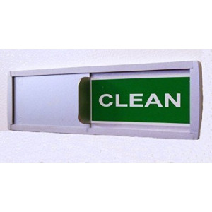 SMACD Dish Nanny Magnet-Sign Tells Whether Dishes Are Clean or Dirty(Dishwasher Signs With Color Options)