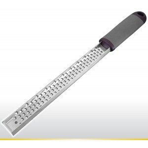 Venicia-Milan ***YEARLY $6 SALE*** Cheese Grater / Lemon Zester by Choc N Cheese - Best Kitchen Gadget - Profess