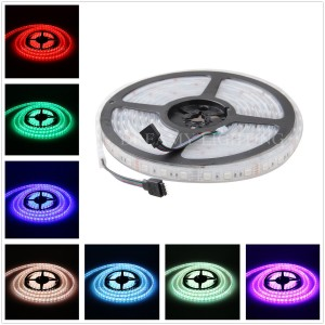 XKTTSUEERCRR New Arrival 5050 300LED Waterproof (IP68)/ Underwater Submersible Flexible LED Strip Light, 16.4ft/5M, RGB Color (Power Supply Not Included)