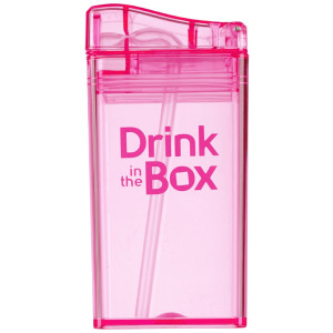 Precidio Drink in the Box Reusable Drink Box- Pink