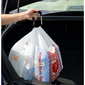 Bear Necessaries Quick Carry Grocery Bag handle - Grip Your Shopping Bags, Reusable Bags, Plastic Bags With One Han
