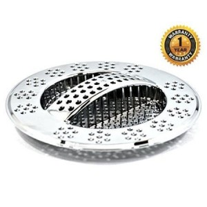 Hydroswift Fast Draining Kitchen Sink Strainer - Replaces Sink Basket, Sink Strainer Basket, Food Cover Mesh. Saves On Waste Management. Protects Garbage Disposal. Block Food Particles and Promote Flow
