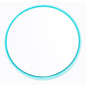 Danielle Enterprises 20X High Magnification Suction Mirror, Mini, Turquoise