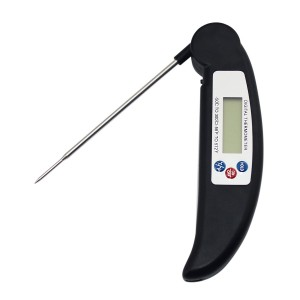 Digital Instant Read Thermometer, SySrion? Cooking Barbecue Meat Thermometer Electronic BBQ Thermometer Random Color with Collapsible Internal Probe - [Fast and Auto On/Off]