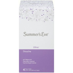Summer's Eve Douche with Ultra Cleansing Formula, 4.5 fl oz - 4 ea