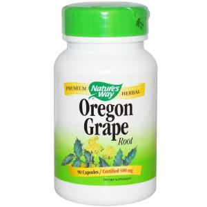 NATURE'S WAY, Oregon Grape Root - 90 capsules