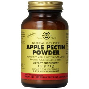 Solgar Apple Pectin Powder Supplement, 4 Ounce