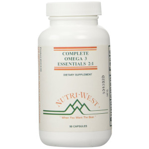 Nutri-West - COMPLETE OMEGA-3 ESSENTIALS 2:1 - 90 capsules