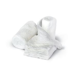 Medline NON25865h Bulkee II Sterile Cotton Gauze Bandages, 4.5 Inch X 4.1 Yds, 12 Count