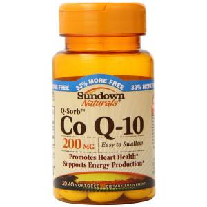 Sundown Naturals Q-Sorb Co Q-10, 200 mg, 40 Softgels