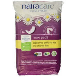 Natracare Natural Feminine Maxi Pads Regular 14 Pad(s)