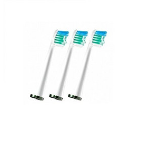 Waterpik SRSB-3W Sensonic Replacement Toothbrushes (Compact Head Size), 3-Count