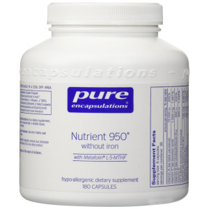 Pure Encapsulations - Nutrient 950 without Iron 180's