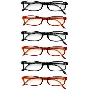 Boomer Eyeware Extra Pair Value Eyes Plastic Frames 6 Pack - Incredible Value