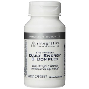 Integrative Therapeutics End Fatigue Daily Energy B Complex, 30-Count