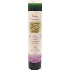 Crystal Journey Money - Herbal Magic Pillar