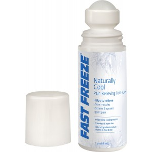 Fast Freeze Naturally Cool Pain Relieving Roll-On, 3 fl. oz.
