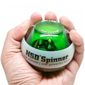 NSD Power Lit Spinner Gyroscopic Wrist and Forearm Exerciser Featuring LED Light