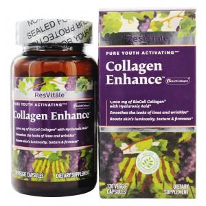 ResVitale Collagen Enhance 120 Veggie Capsules