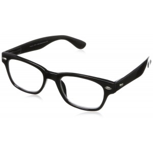 Peepers Men's Clark Kent Wayfarer Reading Glasses