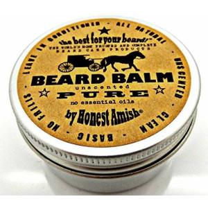 Honest Amish - PURE - Fragrance Free Beard Balm - All Natural
