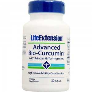 Life Extension Advanced Bio-Curcumin with Ginger and Turmerones, 30 softgels