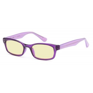 GAMMA RAY ESSENTIALS GR E-804-C1 Computer Glasses with UV Protection, Anti Blue Light, Anti Glare and Scratch Resistant Lens in 50-18-143 Size