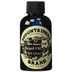 Mountaineer Brand Natural Beard Oil-WV Coal-2 Oz TWICE THE SIZE OF MOST