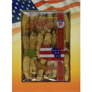 Hsu's Ginseng 132.4, Half Medium Cultivated American Roots 4oz