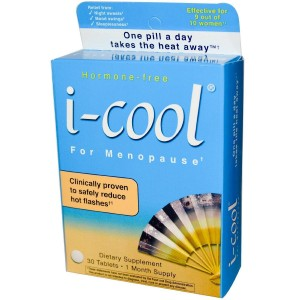 iCool I-cool for Menopause Tablets, 30 Ct (Pack of 2)