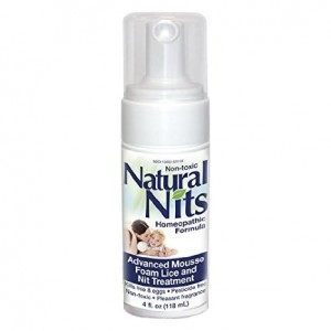 Natural Nits Super Lice Treatment Shampoo **All Natural Ingredients - Destroys Both Super Lice and Nits on Contact. Pesticide Free, Non-Toxic 4oz WITH Comb