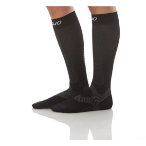 Mojo Compression socks Compression Socks - Mojo Performance and Recovery Black Medium - Unisex Compression For Running -