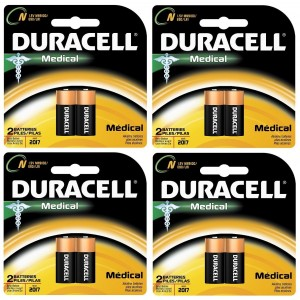 Duracell MN9100B2PK Home Medical Battery, Size N (8 Batteries)