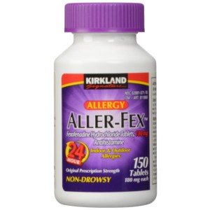 Kirkland Signature Aller-Fex , 180 mg 150 Tablets (Pack of 2)