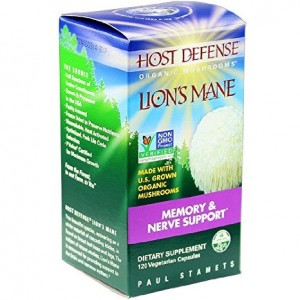 Host Defense Lion's Mane Capsules, Memory and Nerve Support, 120 count (FFP)