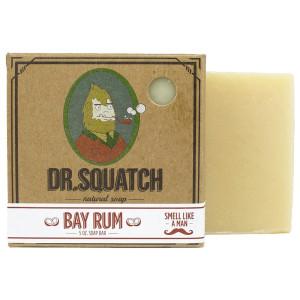 Dr. Squatch - Bay Rum Bar Soap - Island Fresh Scent for Men, 5 Oz.