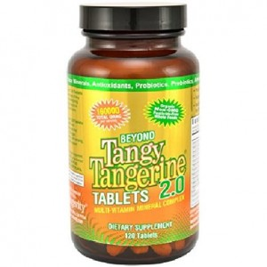 Beyond Tangy Tangerine Tablets 2.0 (120 tablets)