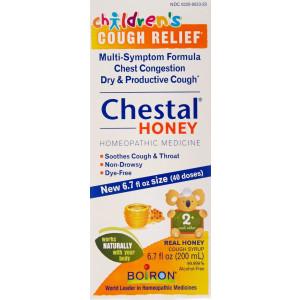 Boiron Chestal Children's Honey Cough and Chest Congestion Medicine, 6.7 Fluid Ounce