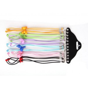 Upstore Colorful Elastic Adjustable Kids Eyeglass Rope Cord Chains Holder Eyewear Eyeglass Cord Strap Rope