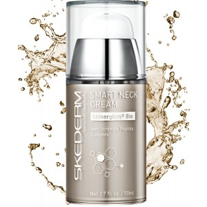Skederm Smart Neck Cream with Strength Peptide Complex Skinergium for Wrinkles and Sagging Skin. 1