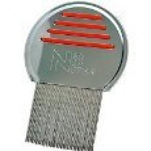 Bulk 3 Pack Nit Free Terminator Lice Comb, Professional Stainless Steel Louse and Nit Comb for Hea