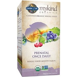 Garden of Life Mykind Organics Prenatal Once Daily Tablet, 30 Count