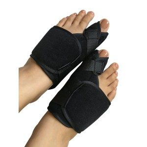 TOEssentials Pain Relief Bunion Splints for Daytime and Bedtime use, Correct, Regulate and Realign Crooked and Overlapped Toes to Ease Pain and Provide Relaxation