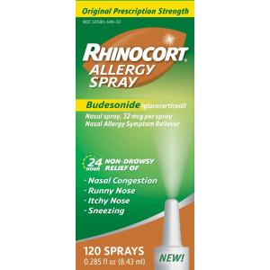 Rhinocort Allergy Spray, 0.284 Fluid Ounce