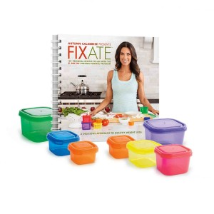 Beachbody Autumn Calabrese's FIXATE Cookbook with Containers - 21 Day Fix Recipes