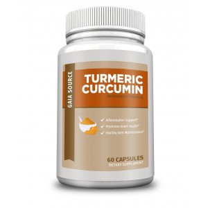 Gaia Source - Turmeric Curcumin - Improved Formula